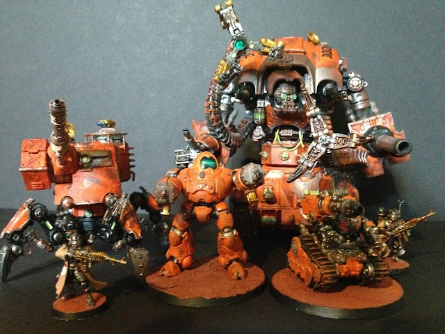 What's On Your Table: Ad Mech/ Skitarii Imperial Knight