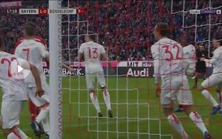 ملخص وأهداف مباراة بايرن ميونخ وفورتونا دوسلدورف