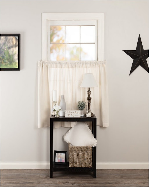 small farmhouse kitchen curtains pinterest