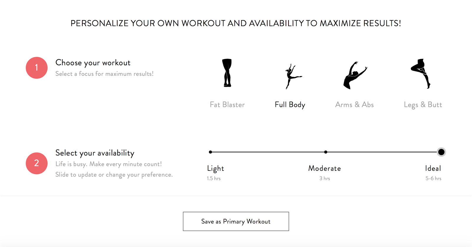 Ballet Beautiful Custom Workout Review