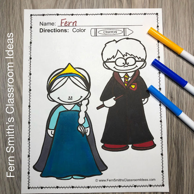 You will LOVE the 62 Halloween Coloring Pages that come in this Halloween coloring book resource! Terrific for a daily Halloween coloring page.