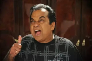 Brahmanandam in most of the South indian movies