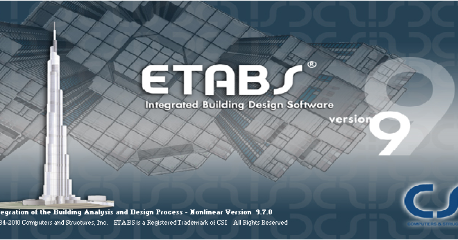Software Menghitung Kebutuhan Material Bangunan Civil Engineering: Download Csi Etabs Portable