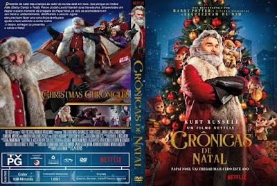 Filme Crônicas de Natal (The Christmas Chronicles) DVD Capa