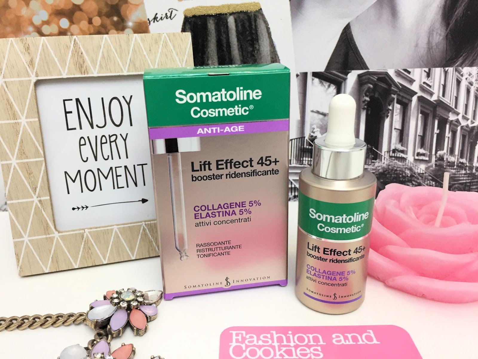 Somatoline Cosmetic Lift Effect 45+ su Fashion and Cookies beauty blog, beauty blogger