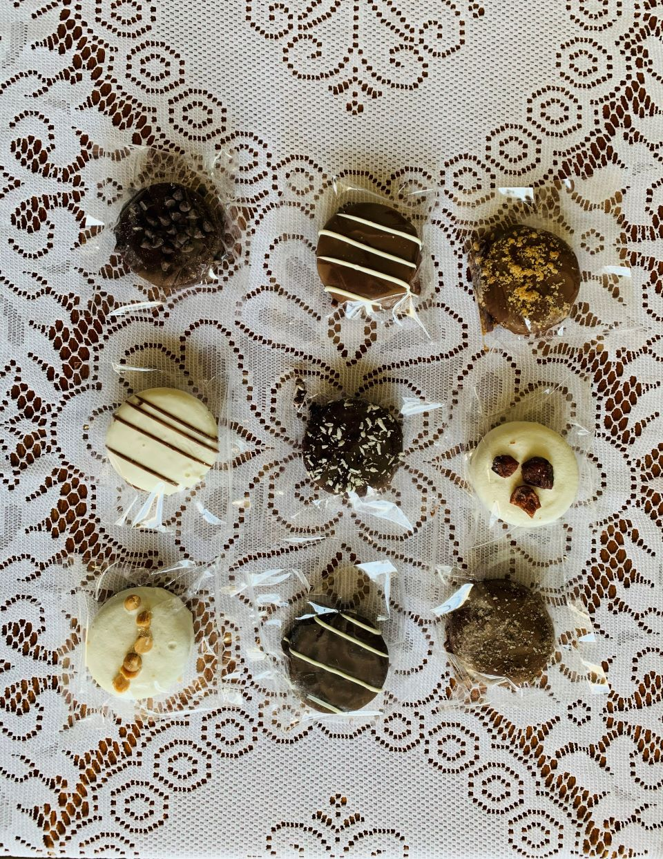 Chocolate covered cookie assortment