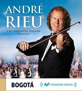 Concierto de André Rieu y Orquesta Johann Strauss en Bogotá
