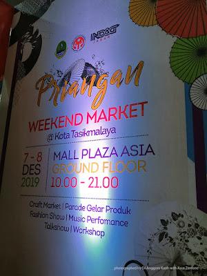 Priangan weekend market banner