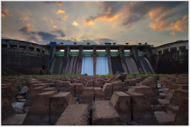 Bendungan Sampean Baru;10 Top Destinasi Wisata Bondowoso;