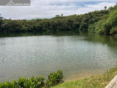 Lagoa Dourada no Parque Estadual Vila Velha