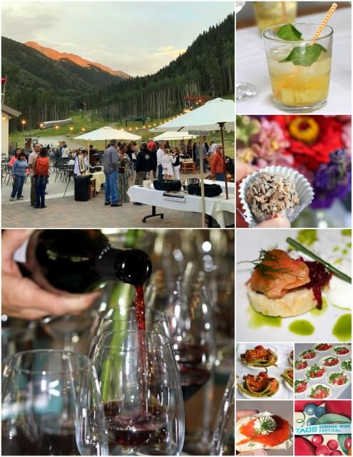 3 years of the Taos Summer Wine Festival