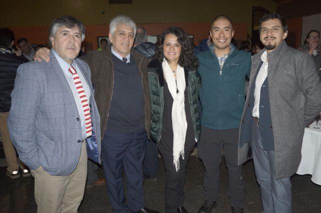 José Kauak, Constanza Ruiz, Mario Ruiz, Macarena Fuentes.