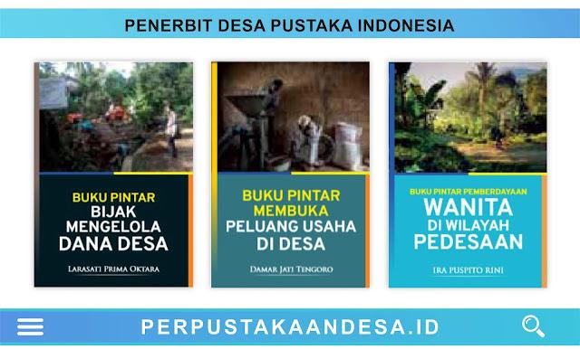 Daftar Judul Buku-Buku Penerbit Desa Pustaka Indonesia