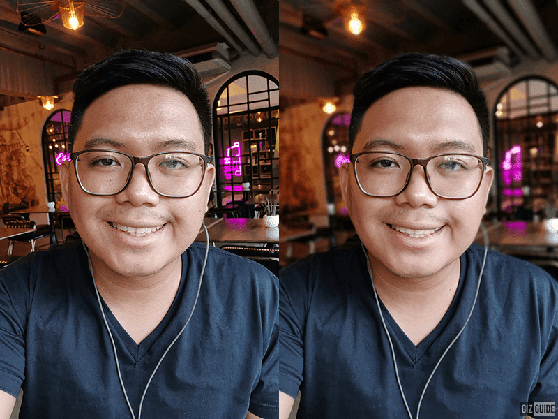 Normal vs Face beauty with Bokeh 2