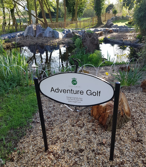 Jiggers Miniature Golf in Thorpeness, Suffolk