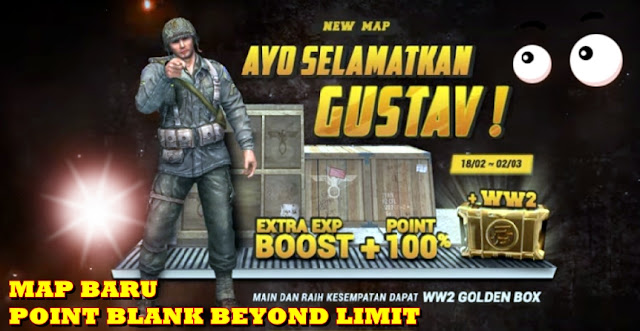 Event Map Baru Point Blank MAP GUSTAV
