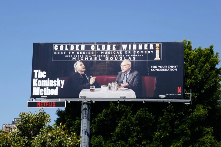 Kominsky Method 2019 Emmy consideration billboard