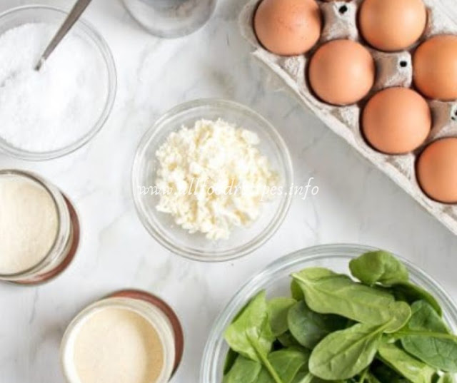 Breakfast Spinach & Feta Egg Cups