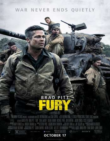 Poster Of Fury 2014 Hindi Dual Audio 550MB BRRip 720p ESubs HEVC Free Download Watch Online downloadhub.in