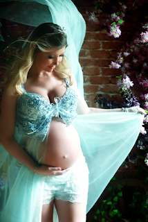 ensaio fotografico gravida em estudio