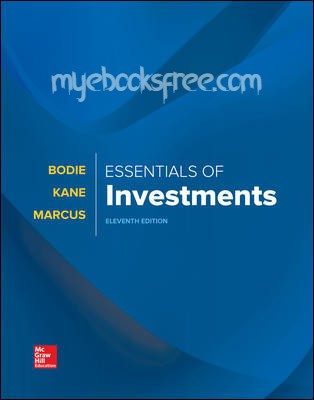 Essentials of Investments Pdf Download eBook