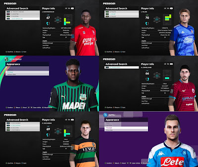 PES 2021 MiXed Facepack 23 by VN HUY BUI