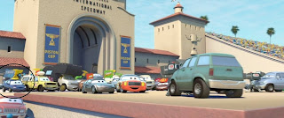 pixar cars j. low lee super chase