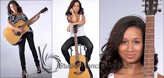 fotos cantoras em estudio