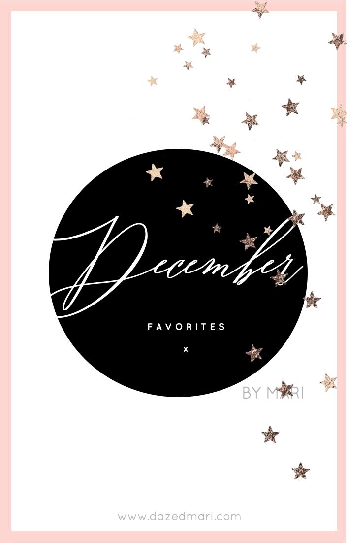 Current Favorites, December Favorites