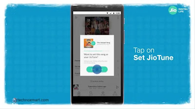 steps by step instructions to set jiotunes in your jio number