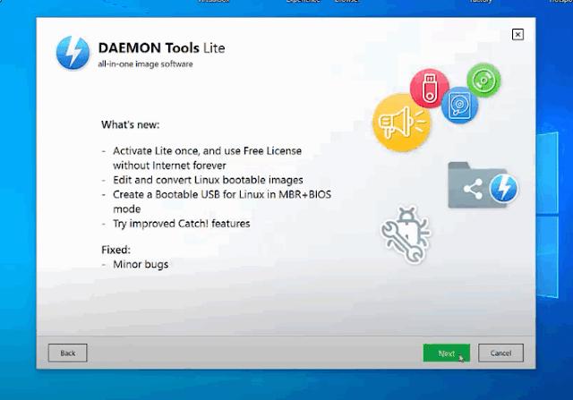 تحميل برنامج DAEMON Tools Lite مع الكراك من ميديا فاير