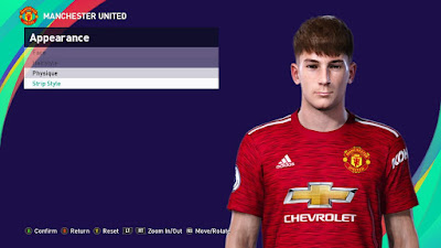 PES 2021 Faces Dylan Levitt by SR