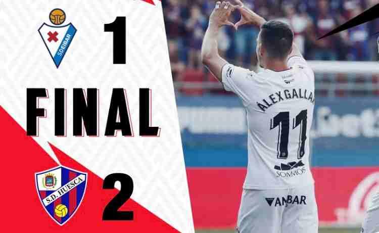Hasil Eibar vs Huesca Skor Akhir 1-2 [ Laliga 2018 ]