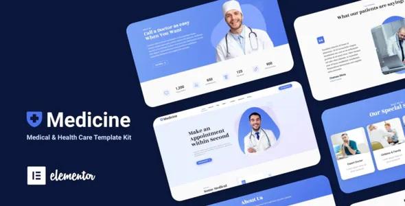 Best Medical Elementor Template Kit