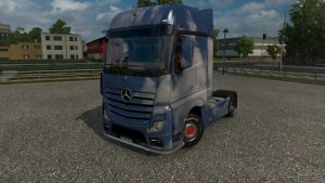 Mercedes Actros 2014 Clouds skin
