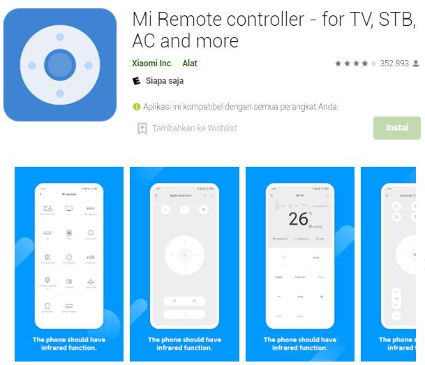 Aplikasi Remote TV Terbaik Untuk Android Offline