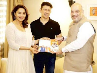 Madhuri Dixit's talk of contesting Lok Sabha elections from Pune