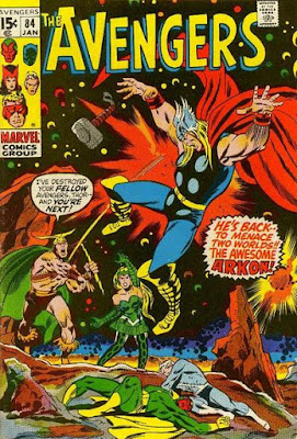 Avengers #84, Arkon is back