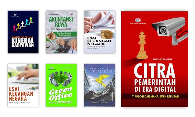 Buku Manajemen, Administrasi dan Perkantoran Untuk Koleksi Perpustakaan Desa