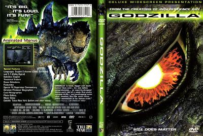 Carátula dvd: Godzilla (1998)