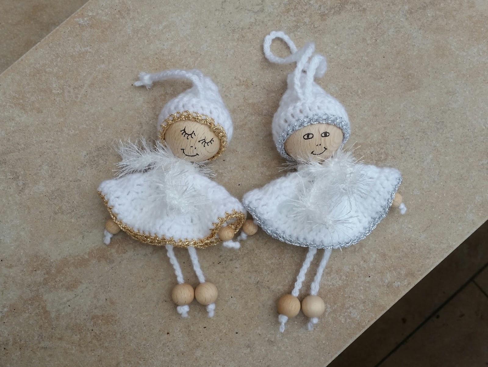my world of crochet 2 kleine engelchen. Black Bedroom Furniture Sets. Home Design Ideas