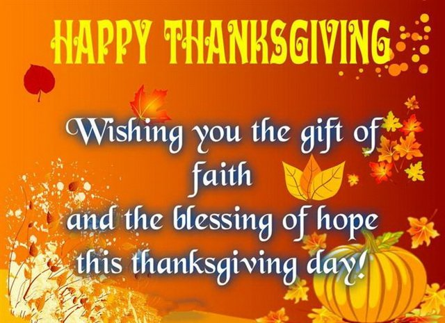 Thanksgiving Wishes for Family