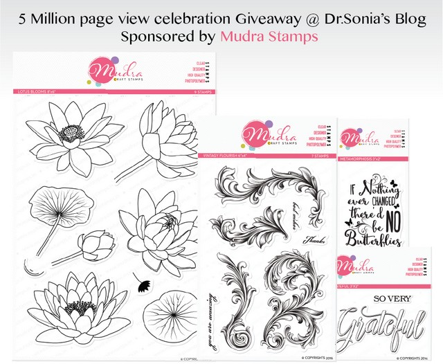 Dr Sonia giveaway (Mudra)