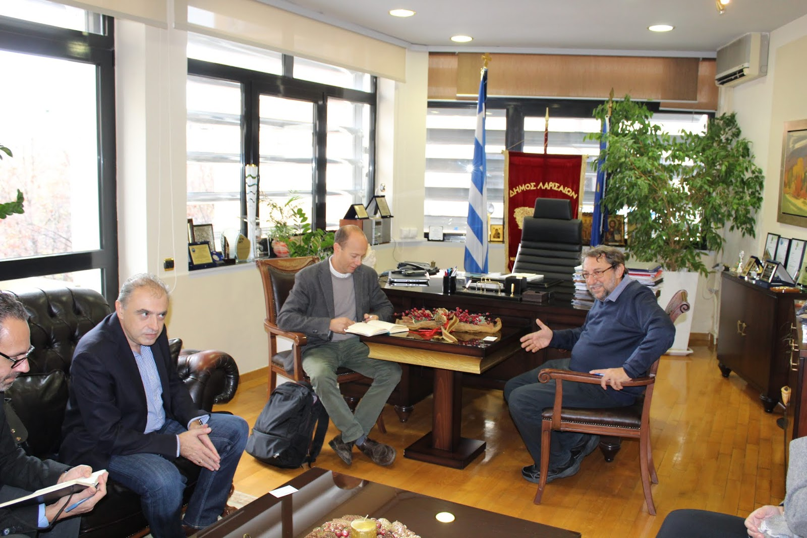 Στην Λάρισα ο αν. εκπρόσωπος του Υπατης Αρμοστείας του ΟΗΕ για τους πρόσφυγες