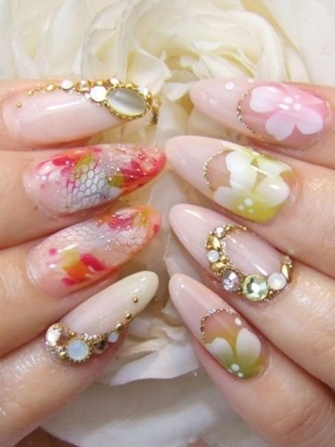 Unique And Stylish Fashion Nail Art Of Designs