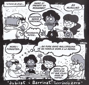 Jaume Font comic Mallorca