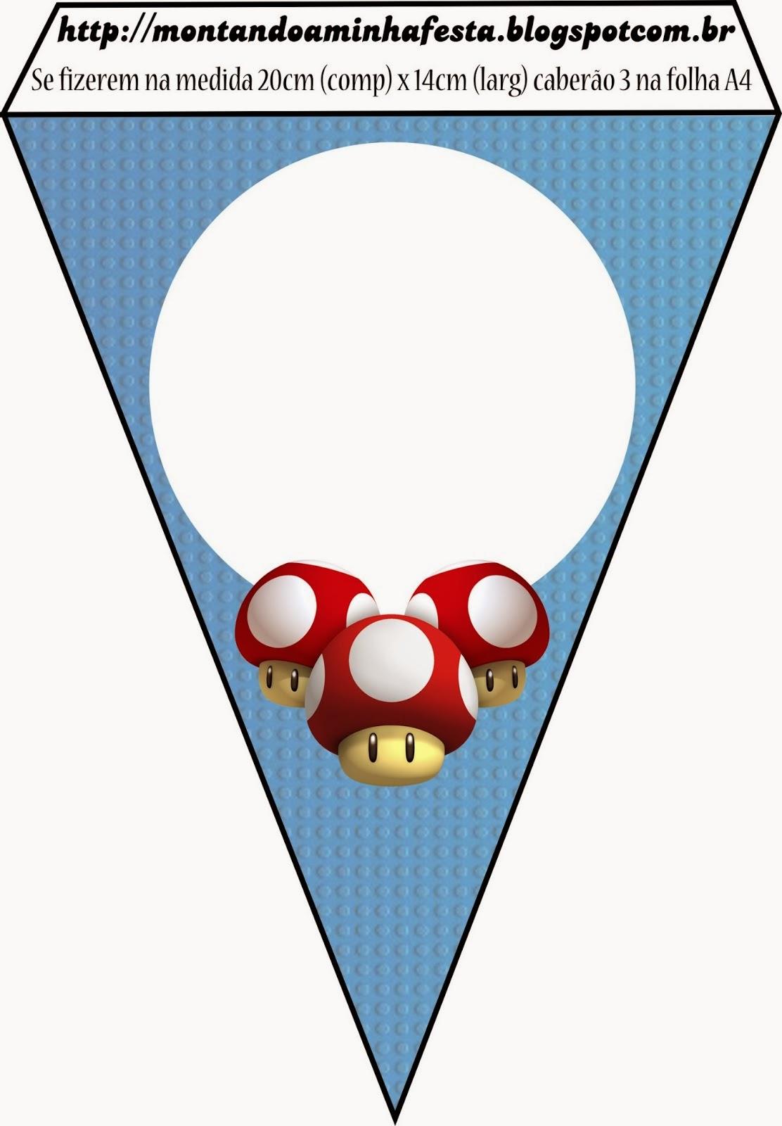 Super Mario Bros Free Party Printables and Invitations ...