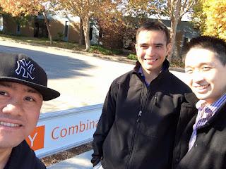 Jaime, Chris, and Kyle at YC Mountain View