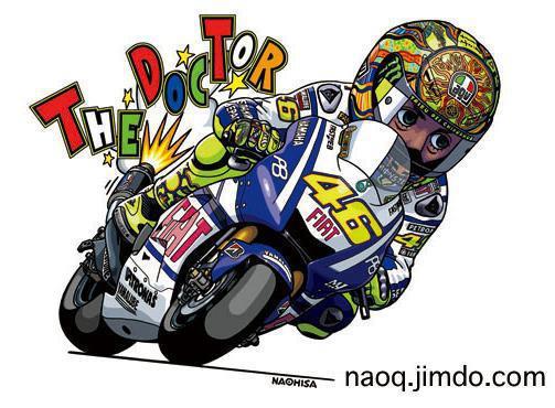 46 Dp Bbm Animasi Gerak Valentino Rossi