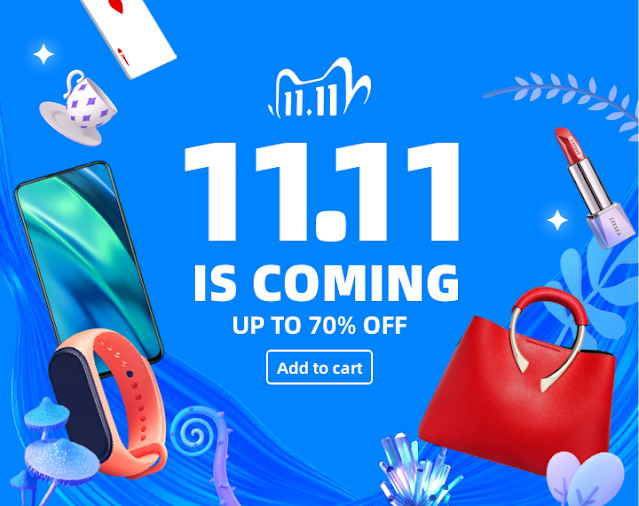 AliExpress 11.11 SALE 2020